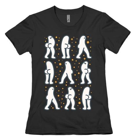 Fresno Nightcrawler Butts Womens T-Shirt