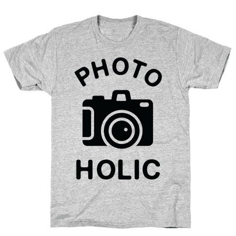 Photoholic Mens T-Shirt