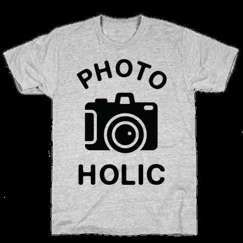 Photoholic Mens T-Shirt