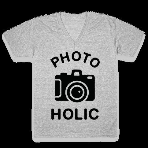 Photoholic V-Neck Tee Shirt