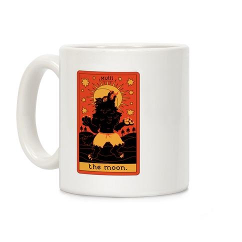 The Moon Werewolf Tarot Coffee Mug