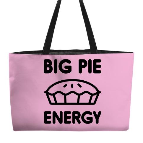 Big Pie Energy Weekender Tote