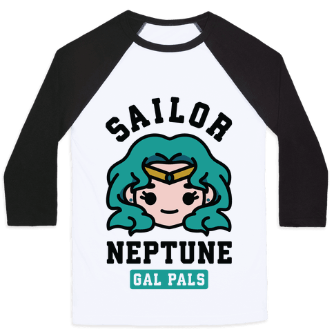 Sailor Neptune Gal Pal Baseball Tee