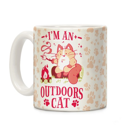 I'm An Outdoors Cat Coffee Mug