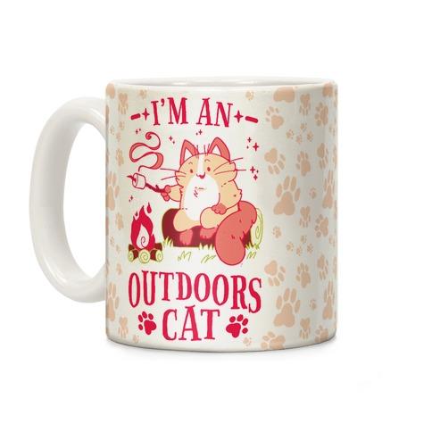 I'm An Outdoors Cat Coffee Mug