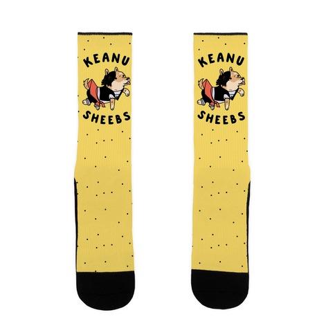 Keanu Sheebs Sock