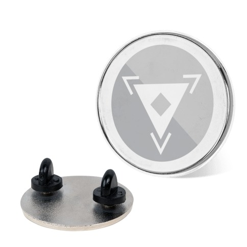 Steel Type Gym Leader Badge Pin