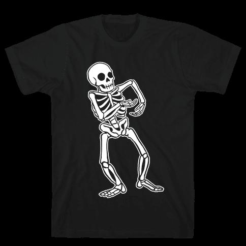 Milly Rocking Skeleton Mens T-Shirt