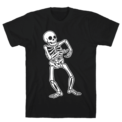 Milly Rocking Skeleton Mens T-Shirt