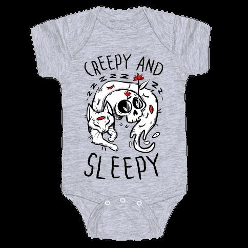 Creepy And Sleepy Baby One-Piece