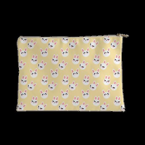 BunBun Pattern Accessory Bag