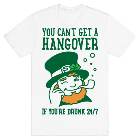 7e8d5f825 Hangover Funny St Patrick's Day T-Shirts | LookHUMAN