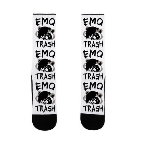 Emo Trash Sock