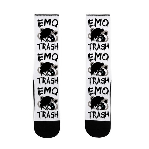 Emo Trash Sock