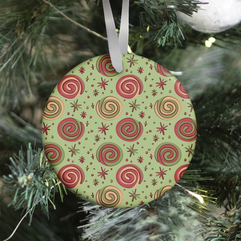 Christmas Pinwheel Cookies Ornament