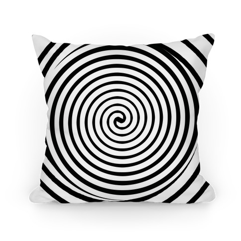 Hypnosis Swirl Pillow