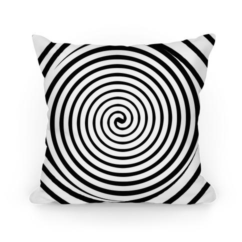 Hypnosis Swirl Pillow