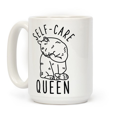 Self-Care Queen Coffee Mug