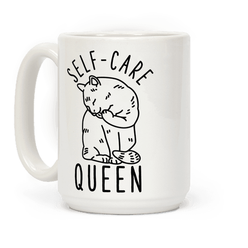 Self-Care Queen Coffee Mug