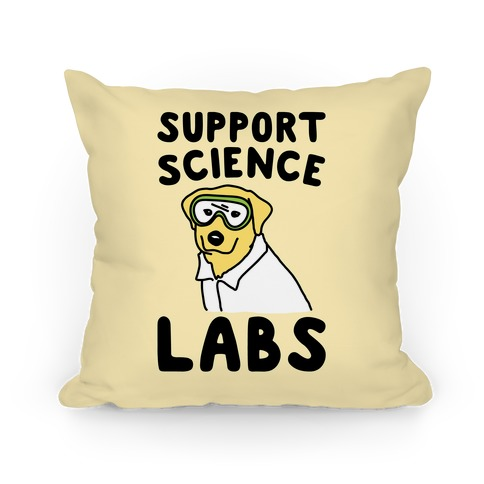 Support Science Labs Pillow