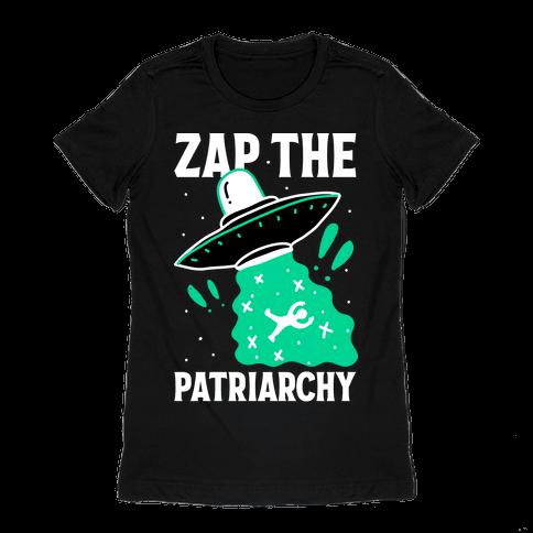 Zap the Patriarchy Womens T-Shirt