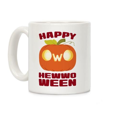 Happy Hewwoween OwO Coffee Mug