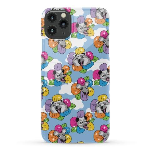 Trash Blossom Pattern Phone Case