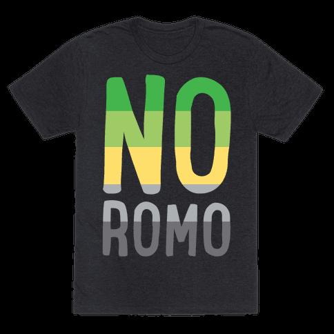 No Romo White Print