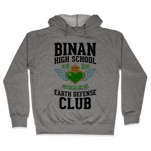Binan High School Earth Defense Club Hooded Sweatshirt