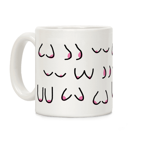 Doodle Boobs Coffee Mug