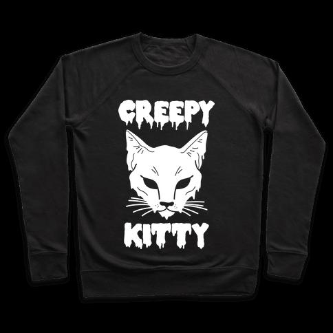 Creepy Kitty Pullover