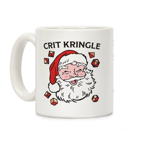 Crit Kringle Santa Coffee Mug