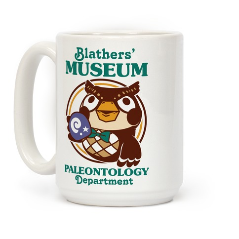 Blathers' Museum Paleontology Department Coffee Mug