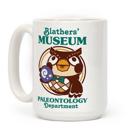 Blathers' Museum Paleontology Department Coffee Mug
