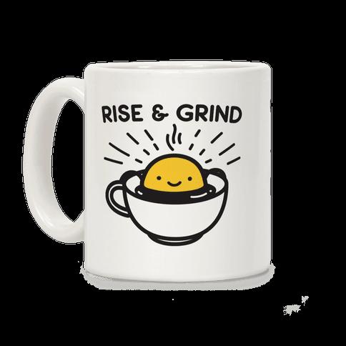 Rise & Grind Coffee Mug