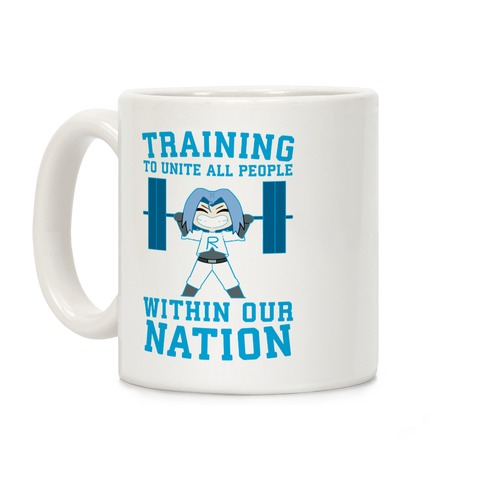Training To Unite All People Within Our Nation Coffee Mug