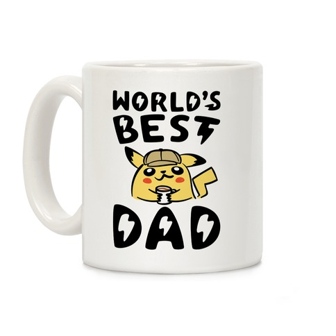 World's Best Dad Parody Coffee Mug