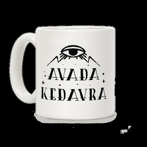 Avada Kedavra Coffee Mug