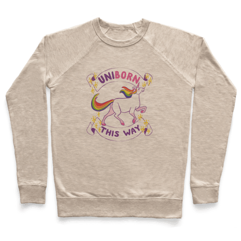 Uniborn This Way Pullover