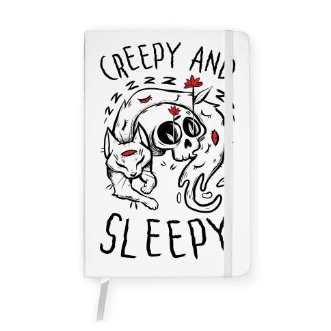 Creepy And Sleepy Notebook