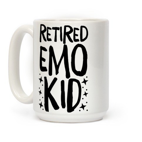 Retired Emo Kid Coffee Mug