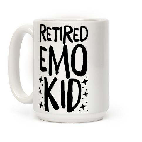 Retired Emo Kid Coffee Mug