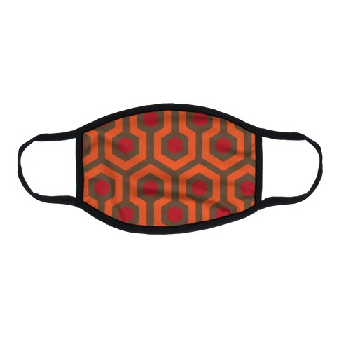 The Shining Pattern Flat Face Mask