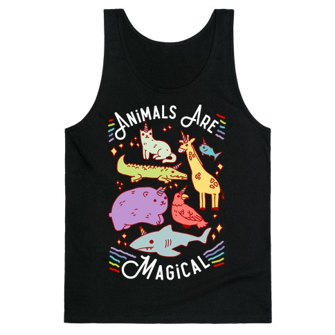 Animals Are Magical Tank Top