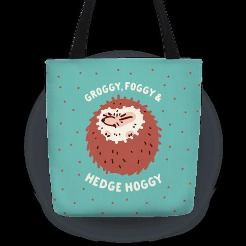 Groggy, Foggy & Hedge Hoggy Tote
