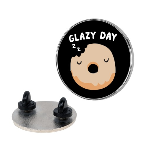 Glazy Day Donut Pin
