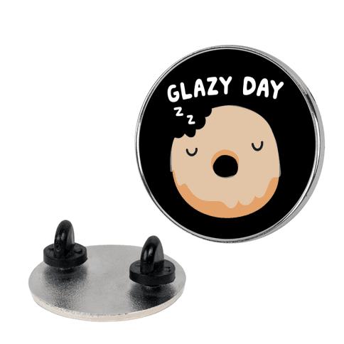 Glazy Day Donut Pin