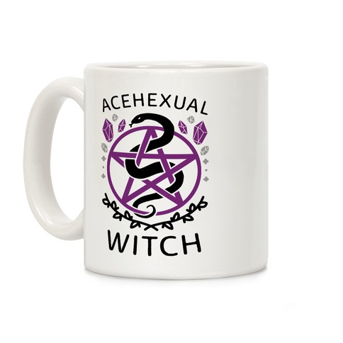 Acehexual Witch Coffee Mug