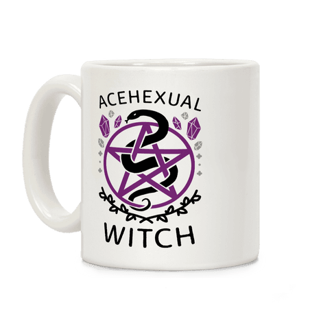 Acehexual Witch Coffee Mug