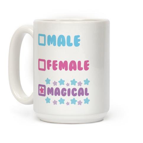 Magical Gender Checklist Coffee Mug